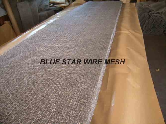 Square Wire Mesh Mist Eliminator Stainless Steel / MONEL Demister Pad In Air Conditioner
