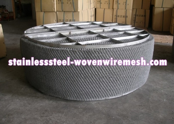 HG / T21618 - 1998 Wire Mesh Demister Mist Eliminator High Temperature Oxidation Resistance