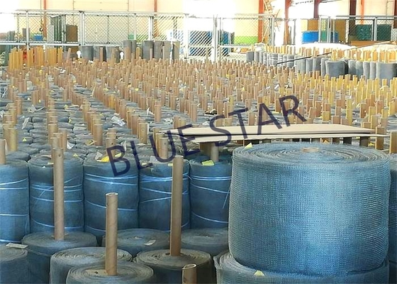 "China Flat / Crimped Stainless Steel Wire Mesh Plain Weave  0.011 ' /  0.008 "" / 0.007 "" Wire 30 36 42 "" Width supplier"
