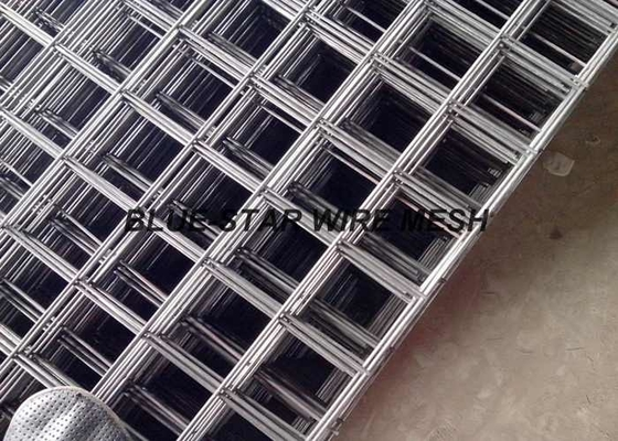 304 316 Stainless Steel Welded Wire Mesh Panel Strong Structure Square / Rectangular Aperture