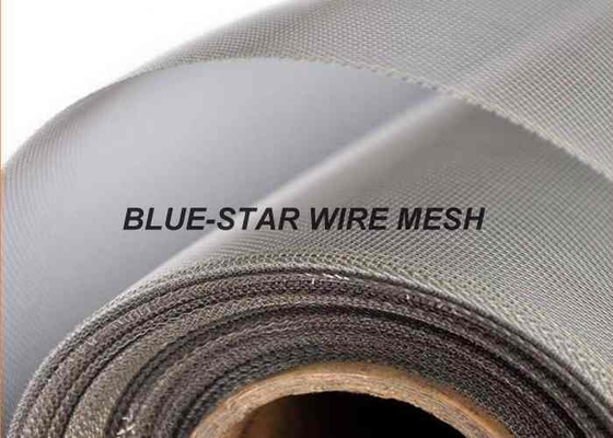 High Tensile Woven Wire Mesh , Plain / Twill / Dutch Weave Mild Carbon Wire Mesh