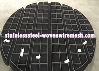 China ROUND/SQUARE/CUSTOMIZE Titanium Wire Mesh Demister Pad Mist Eliminator For Anti - Corrosion factory