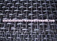 China High Tensile Carbon Steel Crimped Wire Mesh With Square Aperture And Round Wire In Sheet factory