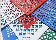 China Aluminum Perforated Metal Sheet Round / Crocodile Jaw Hole 45° / 60° Puchend Hole Mesh factory