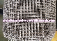 China Crimped Stainless Steel Wire Mesh Plain Weave Square Aperture And Round Wire In Roll factory