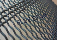 China Long Slot Double Crimped Wire Mesh , Heavy Duty Wire Mesh Screen Abrasion Resistance factory
