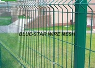 China Mild Steel Welded Wire Mesh Fencing Plastic - Soaked Coated Wire Fencing factory