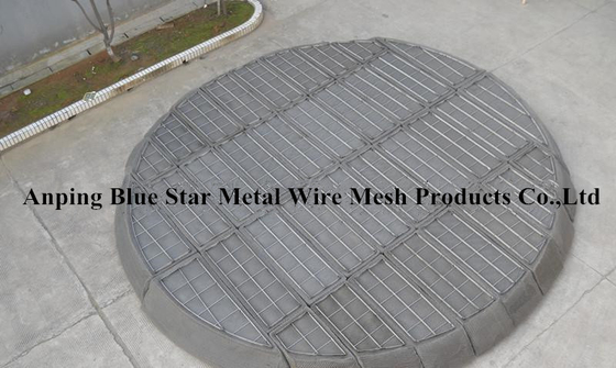 304 / 316 Stainless Steel Wire Mesh Demister Pad For Filter In Chemical Tower