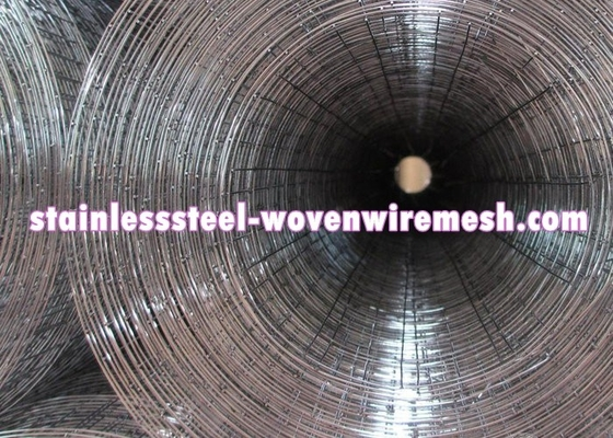 Custom 1 X 1 Welded Steel Mesh Rolls , Stainless Steel Welded Mesh Corrosion Resistant