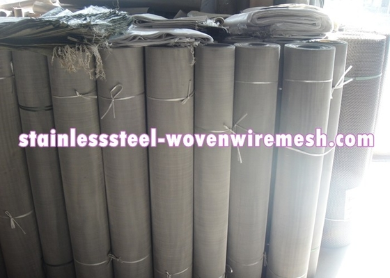 Mesh 7 - 500 Stainless Steel Filter Screen , Customized Stainless Steel Mesh In Roll