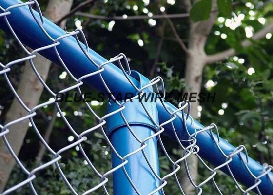 PVC Coated Wire Mesh FencingFlexible Chain Link Fence For Security And Protection